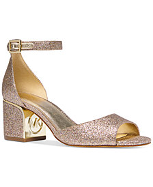 Michael Michael Kors Lana Block-Heel Dress Sandals