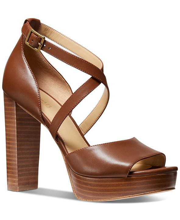 Michael Kors Marais Platform Dress Sandals