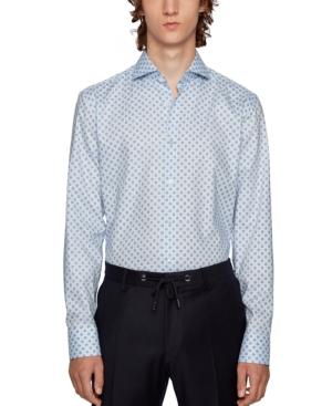 Boss Men's Jason Geometric Print Shirt