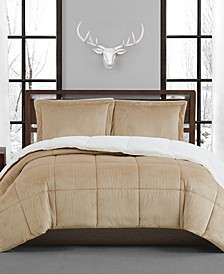 Corduroy King Comforter