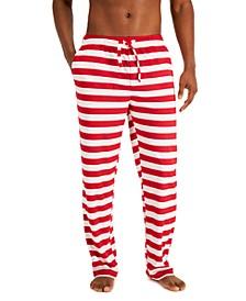 Men's Holiday Fleece Pajama Pants, Created for Macy's