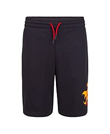 Big Boys Jumpman Flame Logo Shorts
