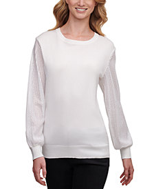 DKNY Sequined Sweater