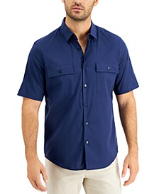 Men's Dual Pocket Shirt, Created for Macy's
