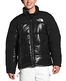 Men's Colorblocked Insulated Puffer Coat