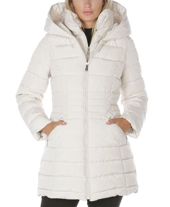 Laundry by Shelli Segal - Hooded Puffer Coat