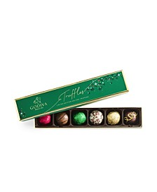 Holiday Truffle Flight Gift Box, 6 Piece Set