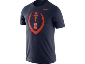 Nike Illinois Fighting Illini Men's Legend Icon T-Shirt