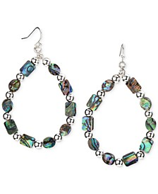 Silver-Tone Stone Beaded Drop Earrings, Created for Macy's