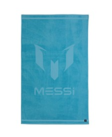 Messi Tonal Logo Beach Towel