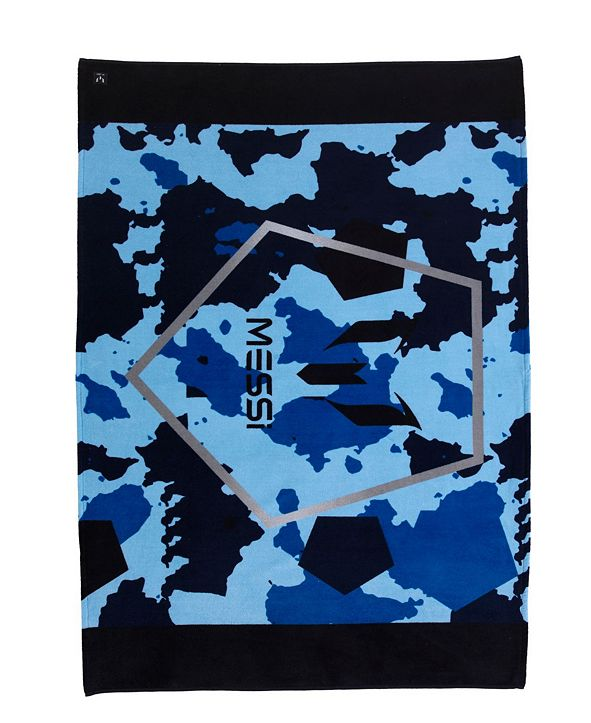 Enchante Home Messi Camo Pentagon Beach Towel
