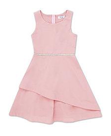 Speechless Little Girl Round Neck Tier Bottom Dress