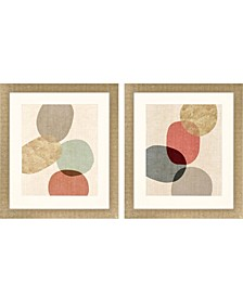"""Relaxed Rested Pack 2 Framed Wall Art, 30"""" x 26"""""""