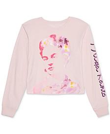 Juniors' Frida Kahlo Long-Sleeve T-Shirt