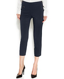 Curvy-Fit Pull-On Capris, Created for Macy's
