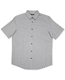 Men's Luke Plaid Woven Shirt, Created for Macy's