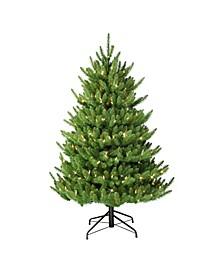 """4.5"""" Pre-Lit Canadian Balsam Fir Artificial Christmas Tree"""