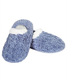 Classic Cable Knit Women's Slipper
