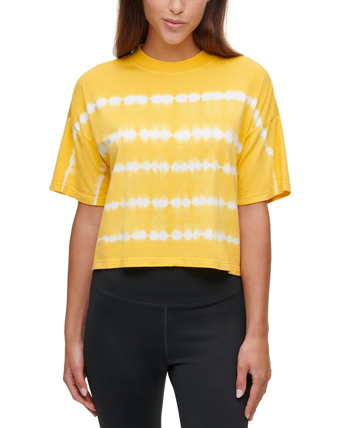Calvin Klein - Tie-Dyed Mock-Neck Top