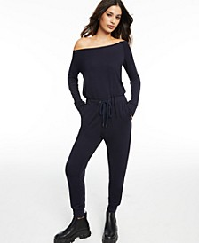 CULPOS x INC Off-The-Shoulder Jumpsuit, Created for Macy's