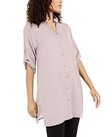 Roll-Tab Tunic Shirt, Created for Macy's