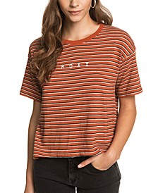 Juniors' Infinity Is Beautiful Striped T-Shirt