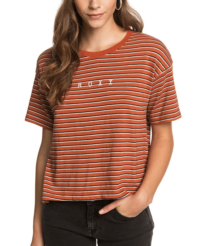 Roxy - Juniors' Infinity Is Beautiful Striped T-Shirt