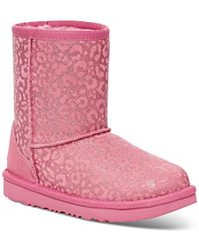 Kids Classic Glitter Leopard Boots