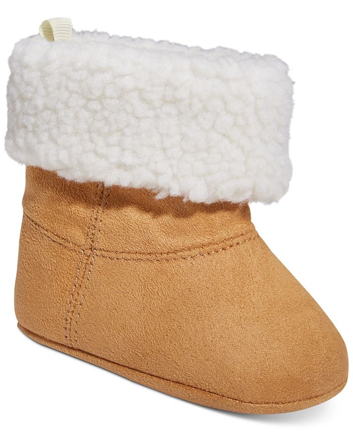 First Impressions - Baby Boys or Girls Fleece Booties