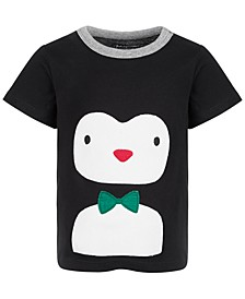 Baby Boys Penguin Cotton T-Shirt, Created for Macy's