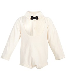 Baby Boys Tuxedo Bodysuit, Created for Macy's