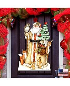 by Susan Winget Ivory Santa Outdoor Wall and Door Decor