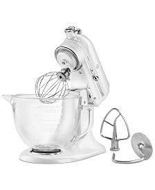 KitchenAid® Artisan® Design Series 5 Quart Tilt-Head Stand Mixer with Glass Bowl