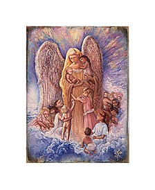by Josephine Wall Blessing Mother Angel Wall Decor