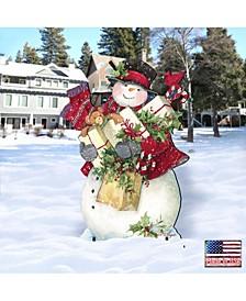 by Susan Winget Dark Night Presents Santa Outdoor, Wall and Lawn Decor