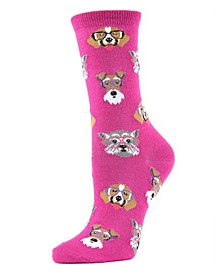 Professor Dogs Women's Novelty Socks
