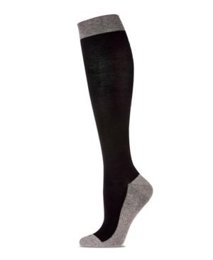 Two-Tone Contrast Women's Compression Socks