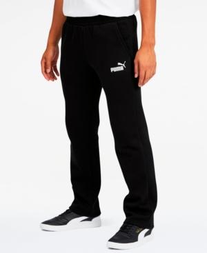 Puma Men's Fleece Open Pants