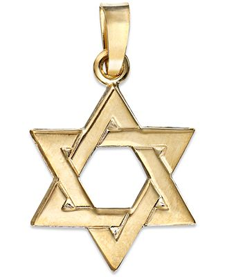 14k gold pendant star of david charm necklaces jewelry 14k gold pendant star of david charm aloadofball Images