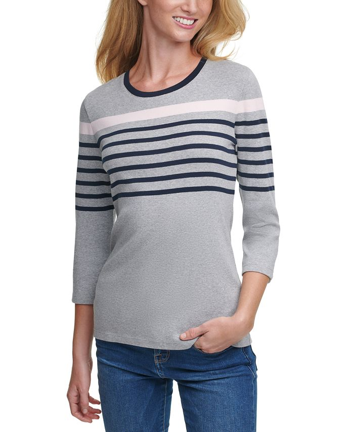 Tommy Hilfiger - Striped Cotton Top
