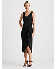 Georgette V-Neck Dress