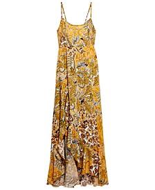 Forever Yours Smocked Slip Maxi Dress