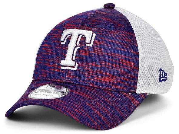 New Era Texas Rangers English Knit Neo 39THIRTY Cap