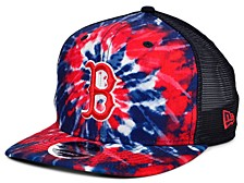 Boston Red Sox Tie Dye Mesh Back 9FIFTY Cap