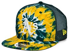Oakland Athletics Tie Dye Mesh Back 9FIFTY Cap