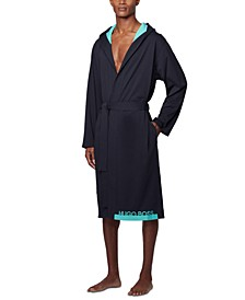Men's Cotton Hooded Robe