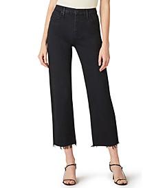 Remi Frayed-Hem Jeans