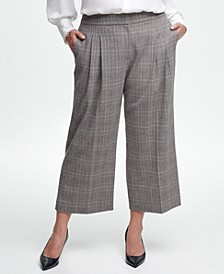 Plus Size Cropped Pants