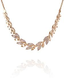 Women's Fashionable Florals Statement Necklace