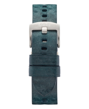 Men's Green Genuine Leather Strap Rally